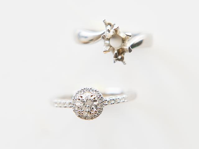 ご婚約指輪をリフォーム【2033】
